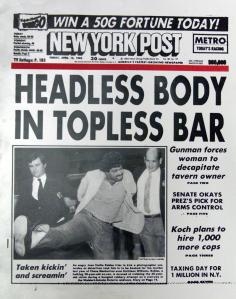 Headless front page